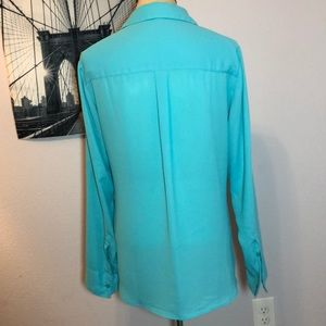 Express Tops - Portofino blouse from express sz M teal
